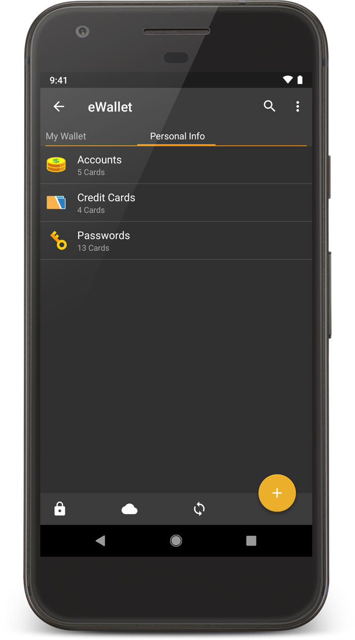 Ilium Software :: eWallet for Android