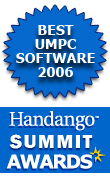 Best UMPC Software - 2006 Handango Summit